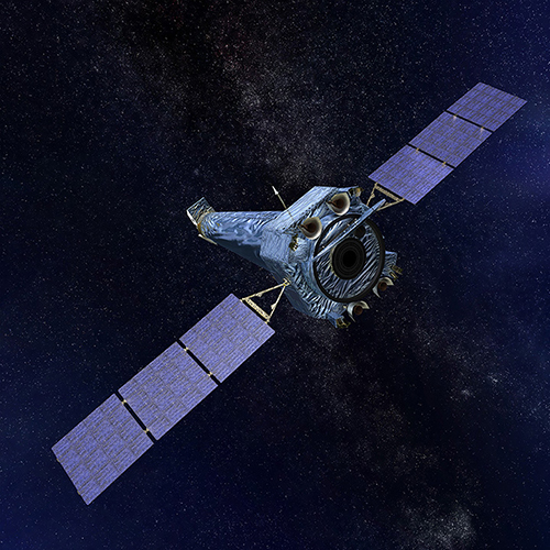 Illustration of Chandra X-ray Observatory