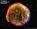 Thumbnail of Tycho's Supernova Remnant