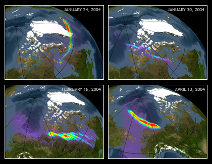 X-ray Images of Earth Aurora