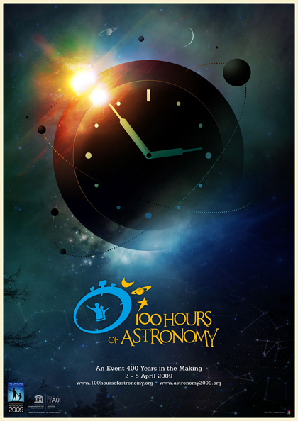 Poster 100 Hours of Astronomy